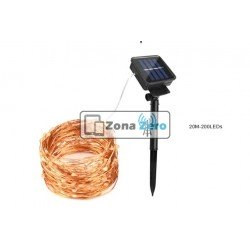Luces LED Solar Multicolor